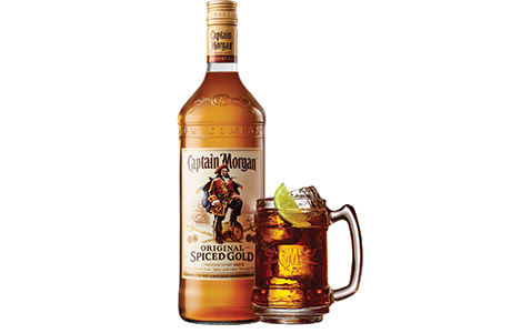 024_Captain Morgan Spiced with glass