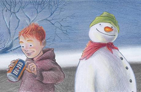 IRN-BRU Snowman Image 1[9]