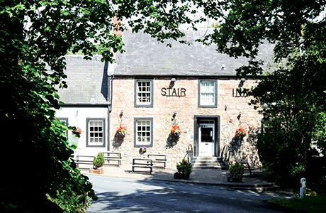 The Stair Inn is said to be 'an established and well known business' in the parish of Stair.