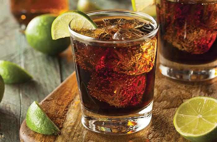 rum coke cuba libre