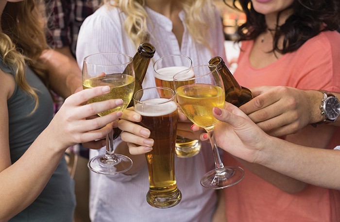 Premium beers, wines and spirits are expected to continue to grow this year, say wholesalers.
