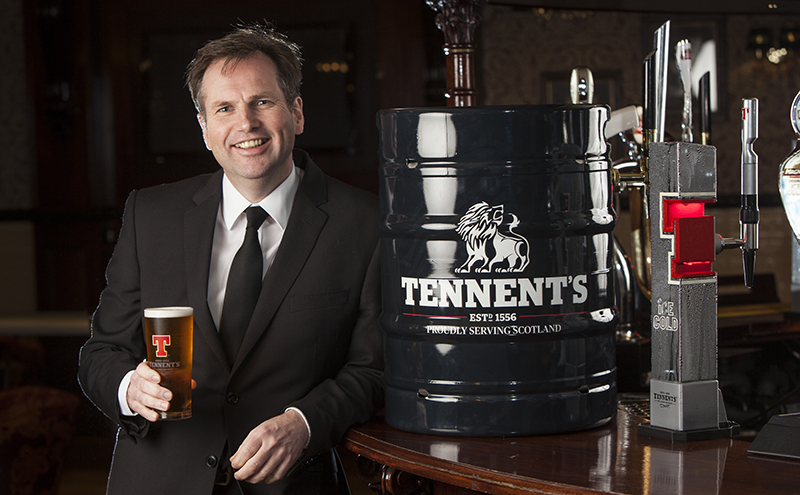 Picture caption: Alastair Campbell was appointed MD of Tennent's in summer 2015