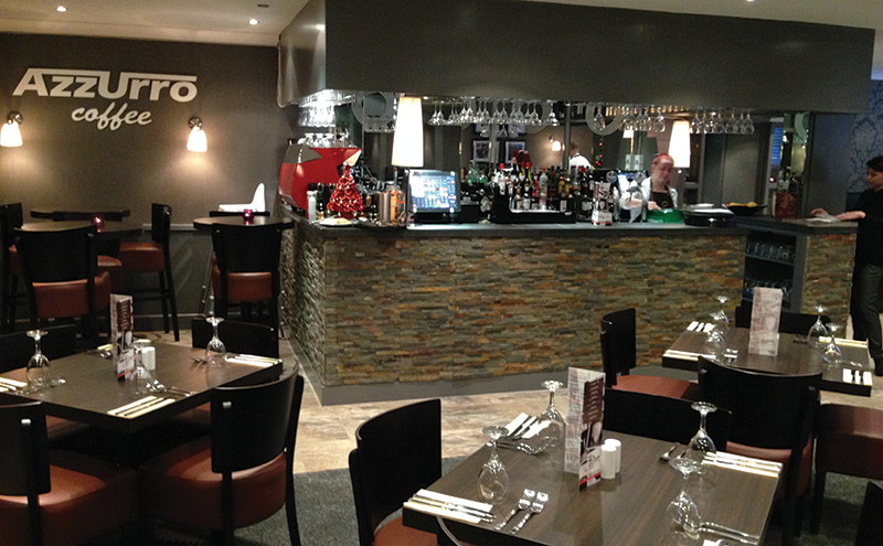 Saporito restaurant bar