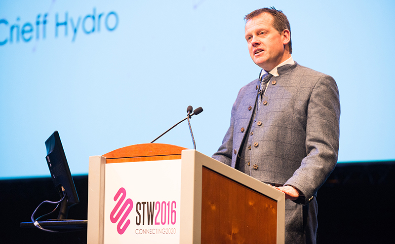 Stephen Leckie spoke at the STA event, part of Scottish Tourism Week.