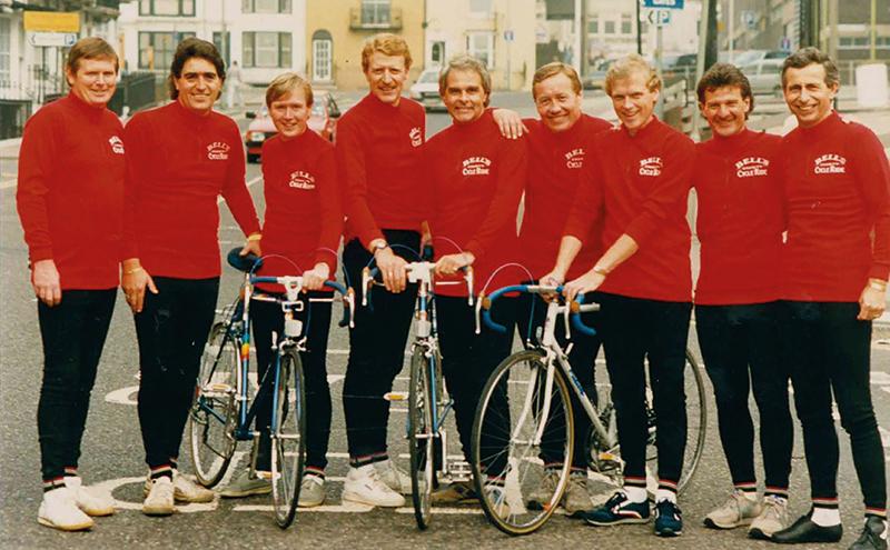 Bell's bike ride 1986
