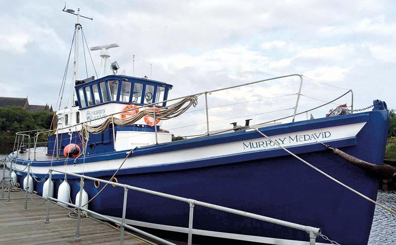 whisky boat