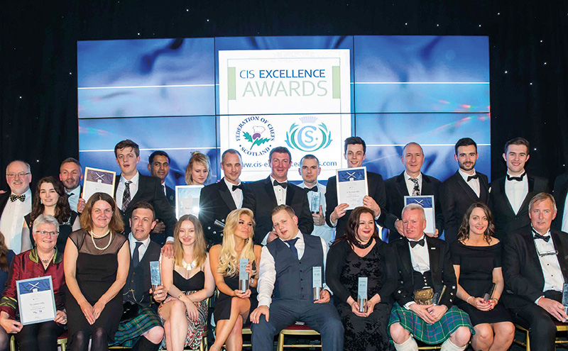 CIS Excellence Awards winners
