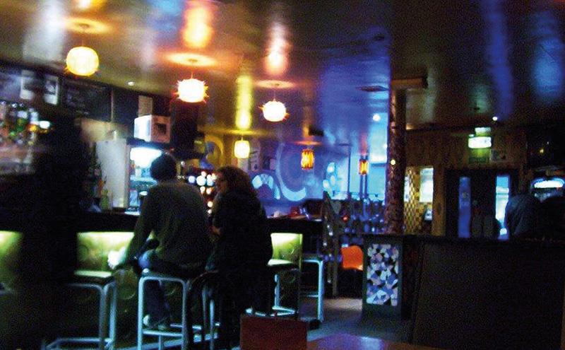 shutterstock_glasgow bar at night