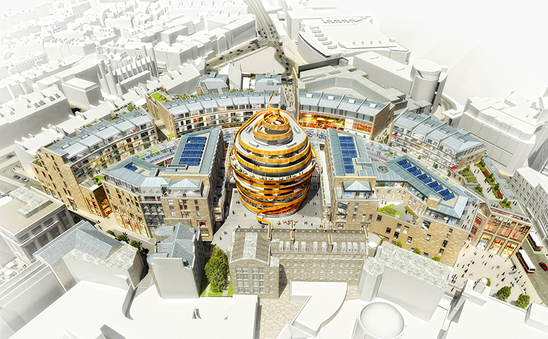A rendering of the forthcoming W Edinburgh