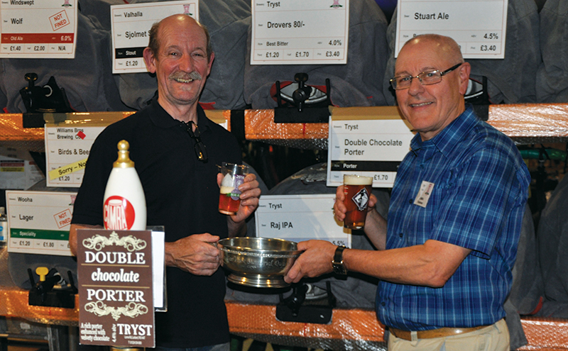 Tryst champion beer