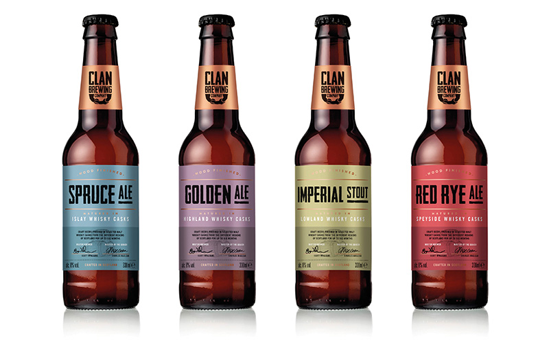 • There are four beers in the range, each with an ABV of 8%.
