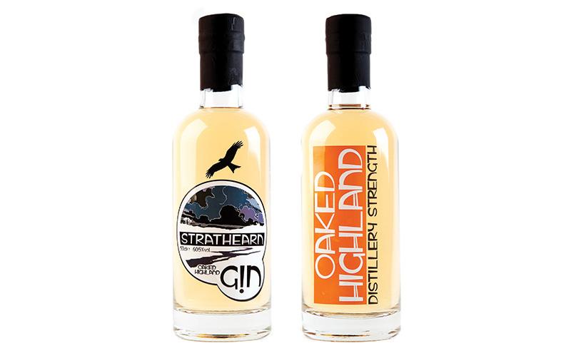 Strathearn Oaked Highland gin