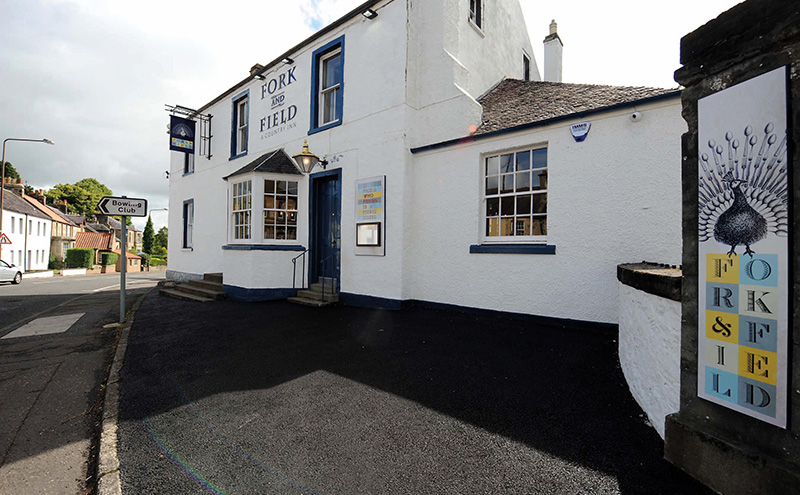 The Fork & Field, formerly The Torphicen, reopened in August after a £475,000 refurb.