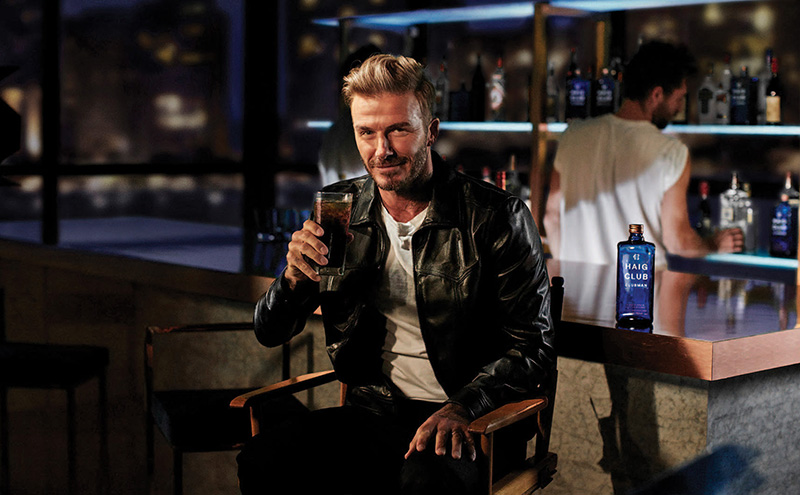 David Beckham introduces HAIG CLUB CLUBMAN - A new Single Grain