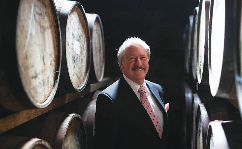 • Richard Paterson has worked in the Scotch industry for 50 years.