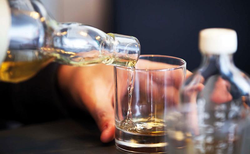 Tasting a vintage whiskey