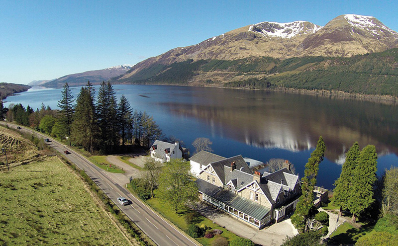 letterfinlay-lodge-hotel-arial-view