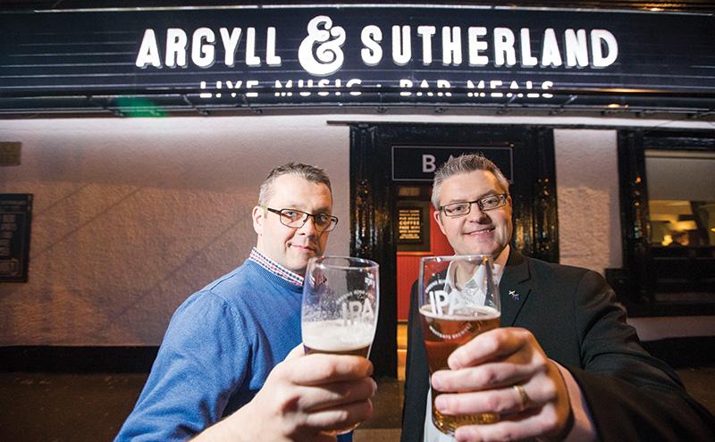 28/10/16 Argyll and SutherlandStuart McMillan(right), Paul Lorraine (left)