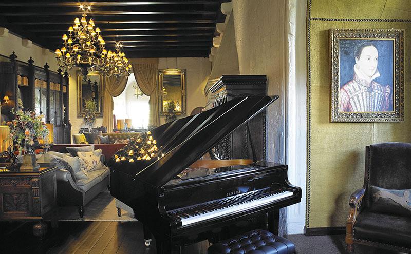 • The award-winning interior.