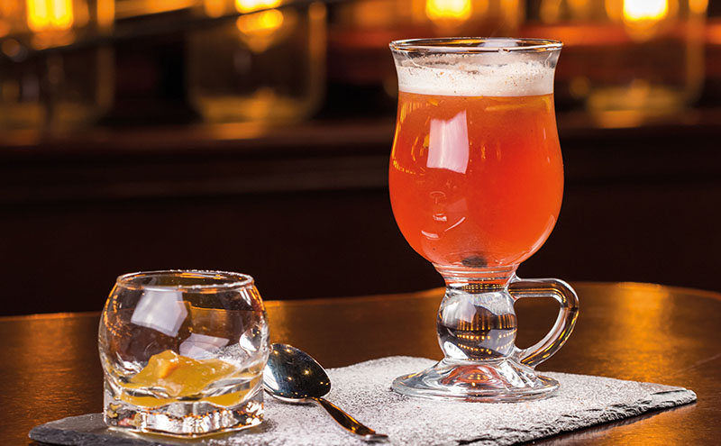 • The Hot Toddy is a winter favourite.