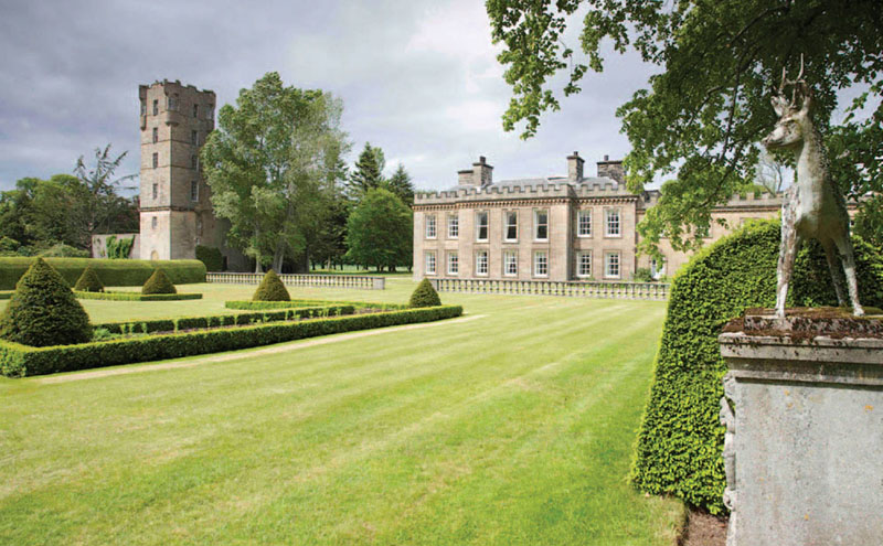 • Gordon Castle is in Moray.