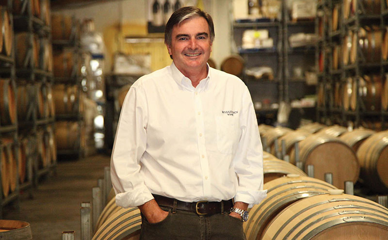 • Neil McGuigan said there's work to do to promote Australian wine.