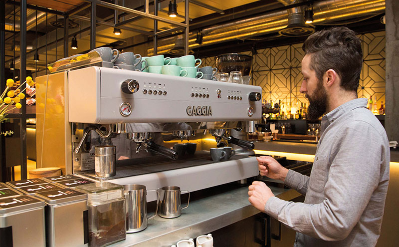When starting out you need to consider the type of equipment you need says caffeine ltd