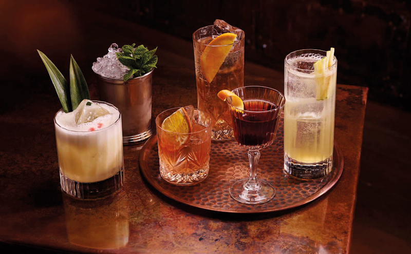 Cocktails continue to prove popular.