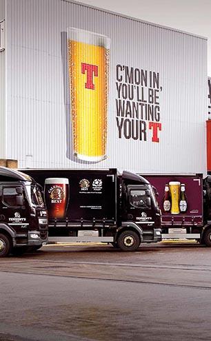 Tennent's Brewery Trucks