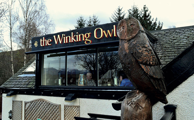 Cairngorm Brewery took on the lease of Aviemore pub The Winking Owl in 2015.