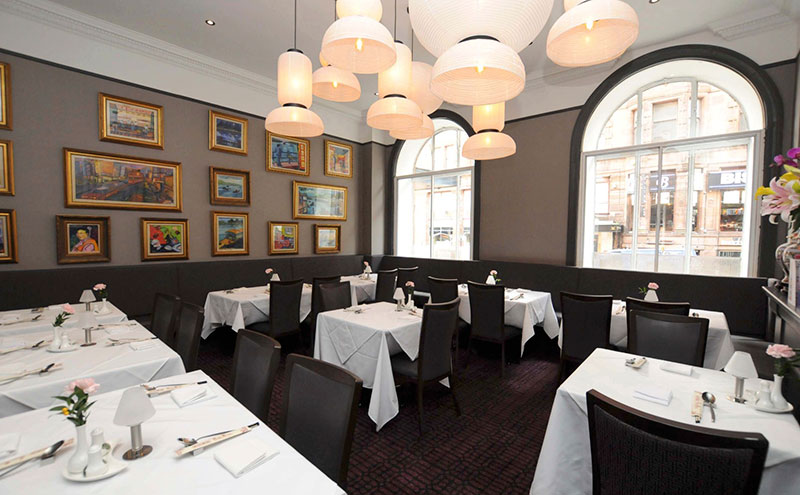 A dedicated dining space, which can be hired out for functions and events