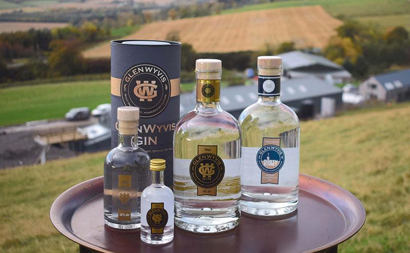 GlenWyvis Distillery range