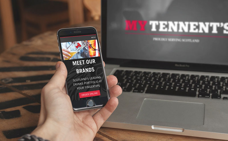 MyTennent's app on phone