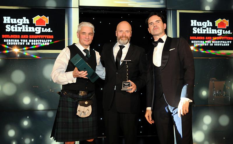 Winner: Brian Fulton, Hold Fast Entertainment, Glasgow