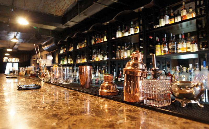 A whisky bar