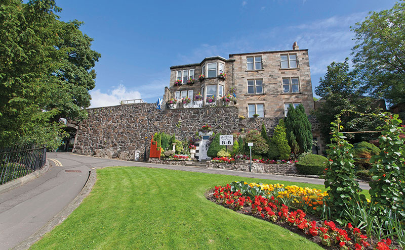 The former Woodside guest house will now reopen as Castle Walk Bed and Breakfast.