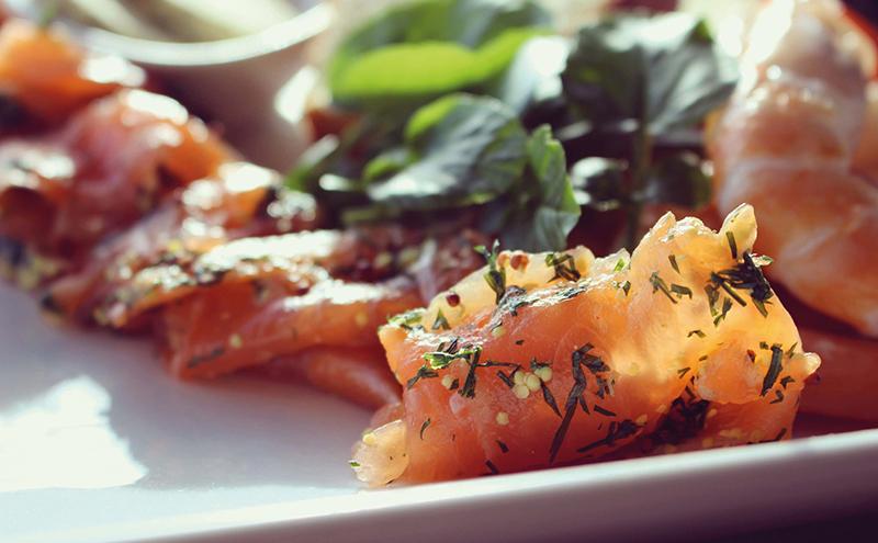 Salmon graradlax