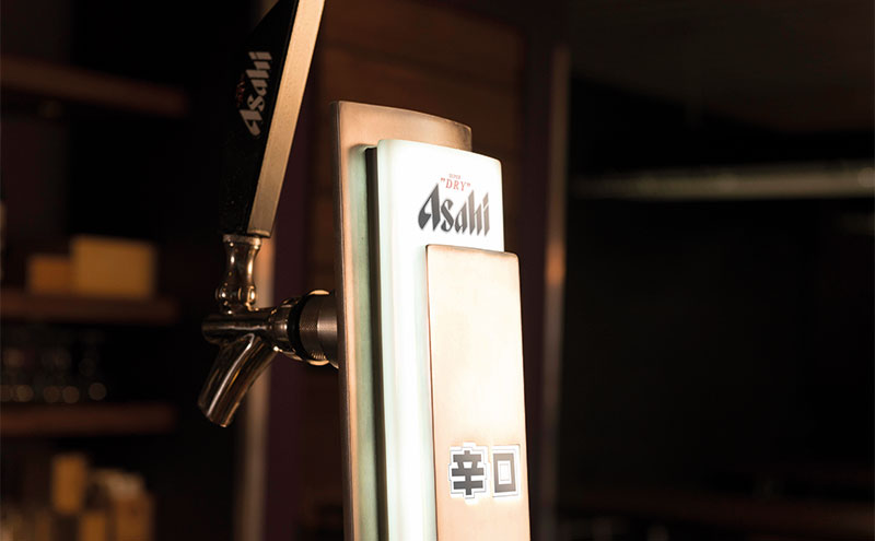 Asahi will be positioned alongside Peroni in bars and pubs, according to its parent firm.
