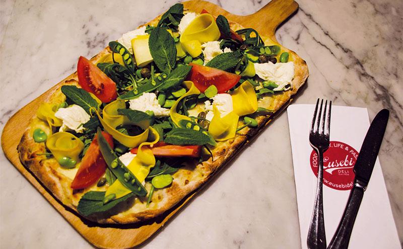 New Eusebi Pizza Bianca Primavera