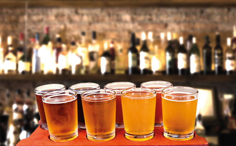 A good range, knowledgeable staff and effective marketing can drive craft beer sales, brewers say.