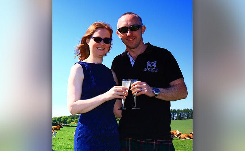 Neil & Katie Sime, Blackford Craft Distillery