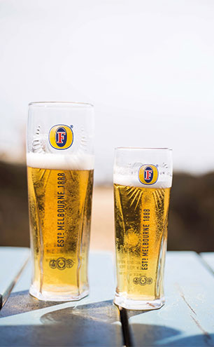 Fosters glasses