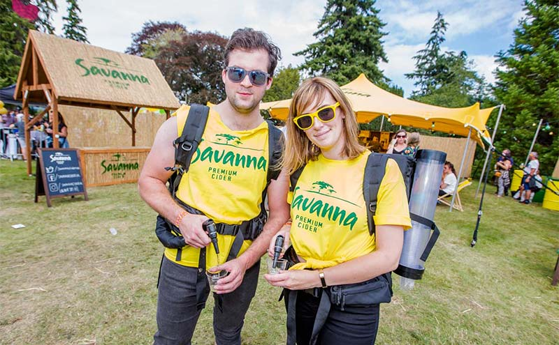 Extensive sampling was carried out at this year's Belladrum festival.