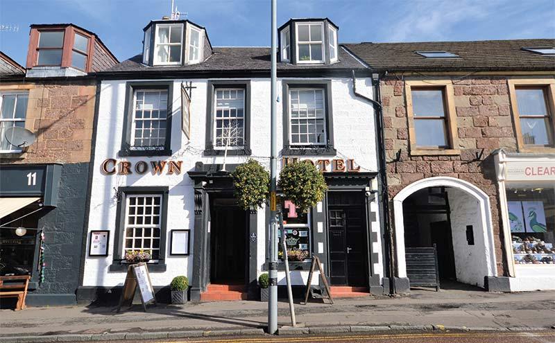 The Crown Hotel in Callander