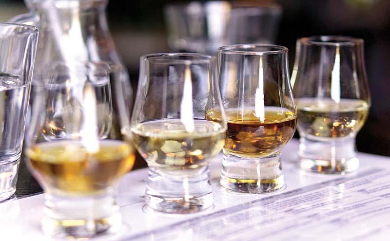 Whisky flight