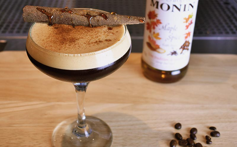 The Spiced Maple Espresso Martini