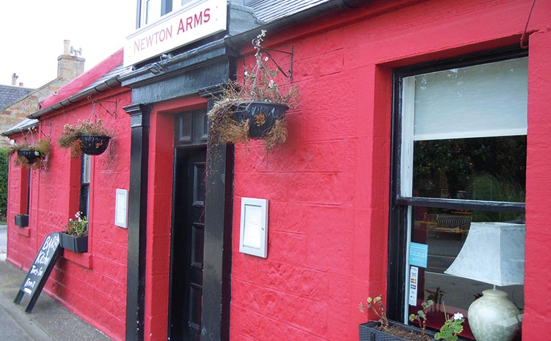 The Newton Arms is said to benefit from its location on the A904