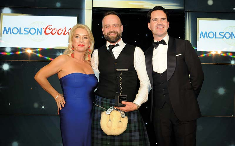 Gregor at the 2017 SLTN Awards