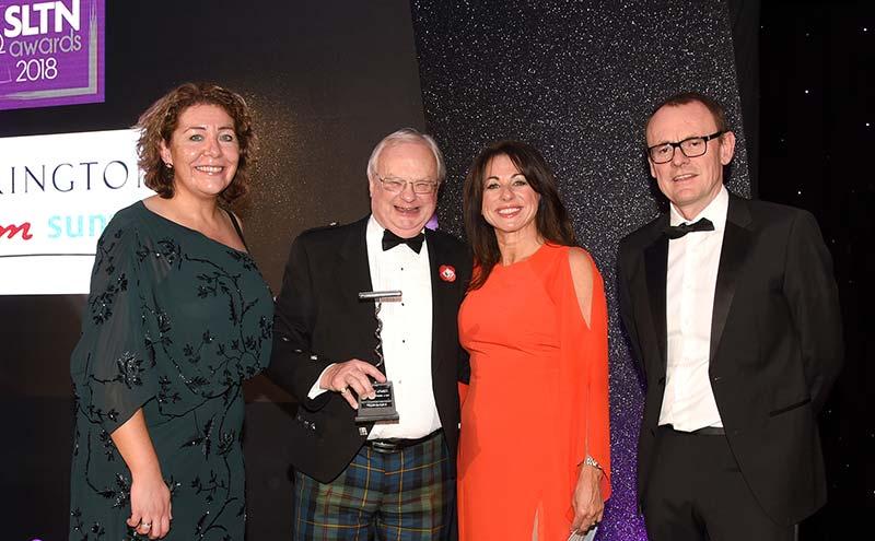 Willie Macleod, winner of industry achievement award
