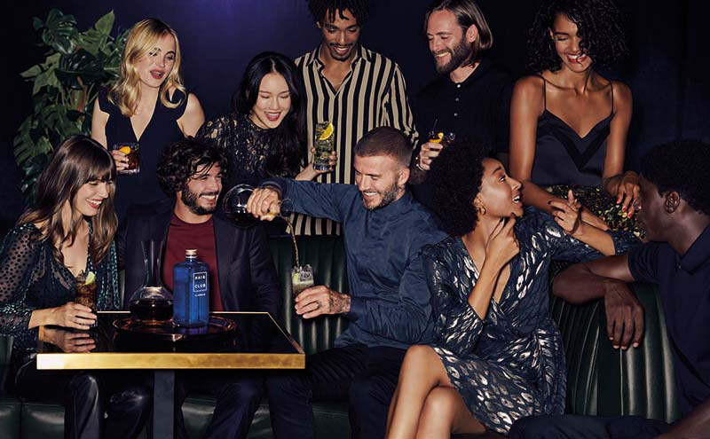 David Beckham and friends